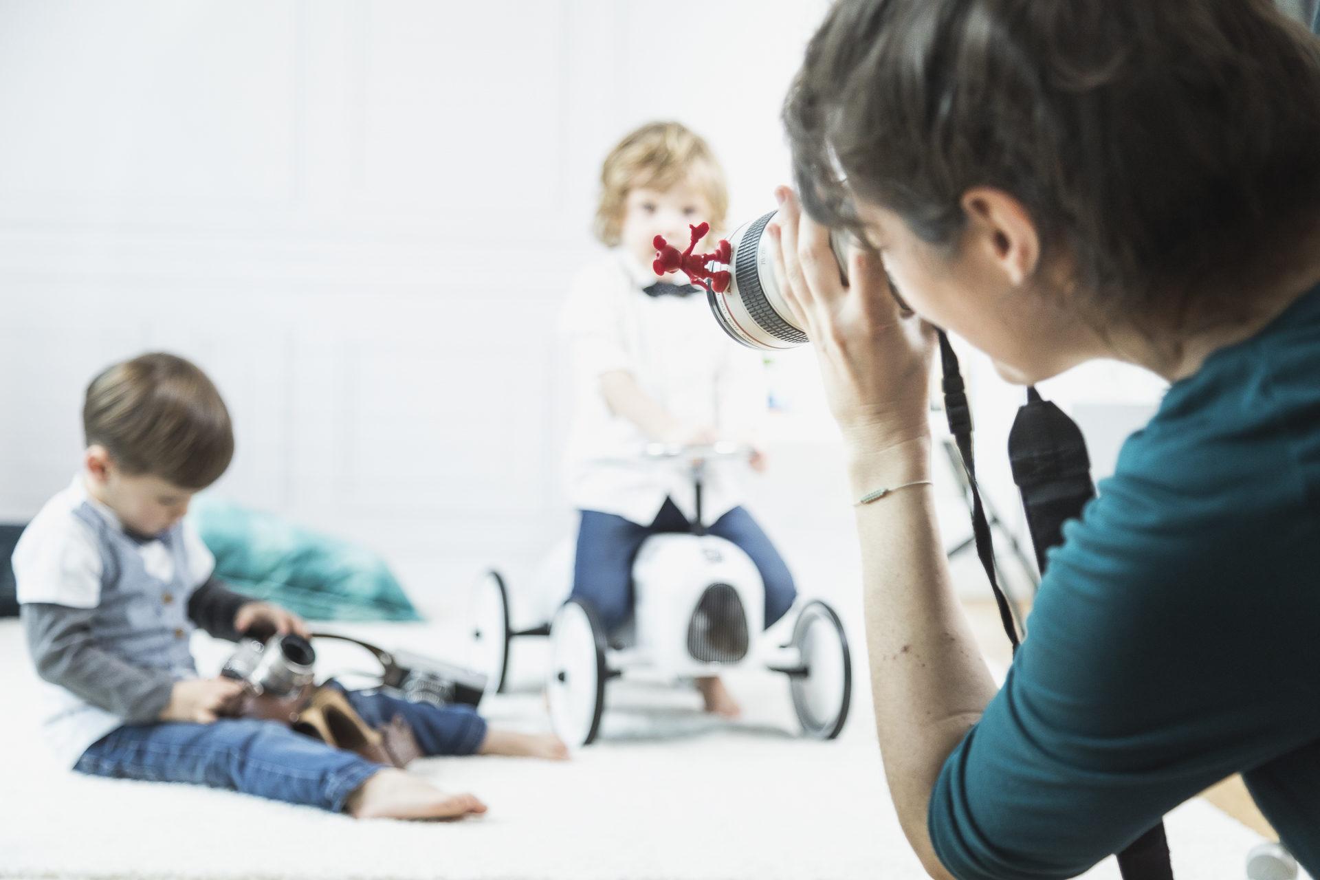 hier fotografiere ich coole kids!