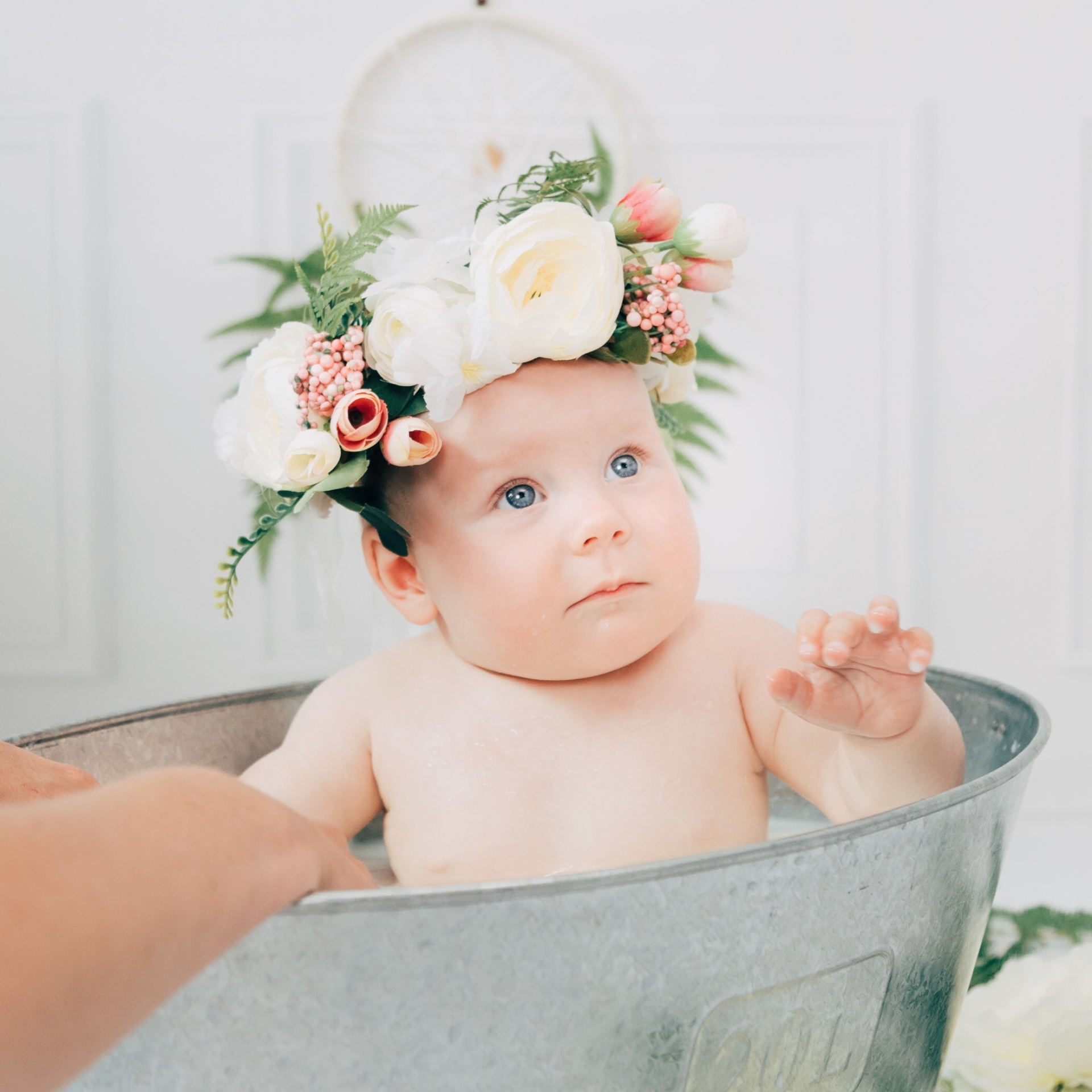 milky bath